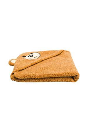 Brown Moschino kids newborn blanket  MOSCHINO KIDS | 69164127 | MUB004LIA0020093