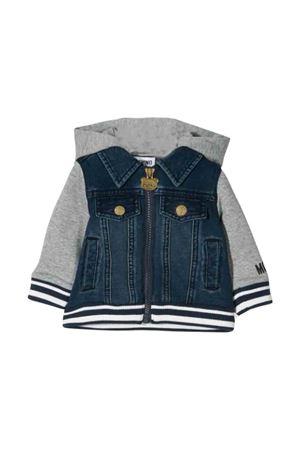Gray Moschino kids sweatshirt  MOSCHINO KIDS | 5032280 | MUF02XLDE0440016