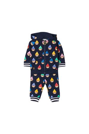 Navy blue suit Moschino kids  MOSCHINO KIDS | 19 | MUK02BLDB2283326