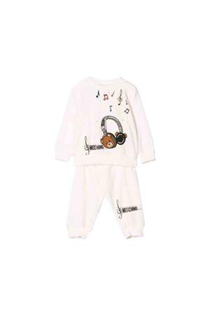 White suit Moschino kids  MOSCHINO KIDS | 19 | MUK02DLGA0410063