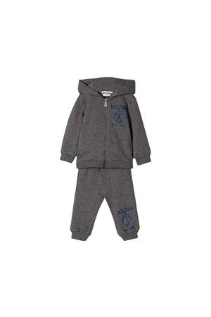 Tuta sportiva neonato moschino kids grigio scuro MOSCHINO KIDS | 19 | MUK02HLDA1660907