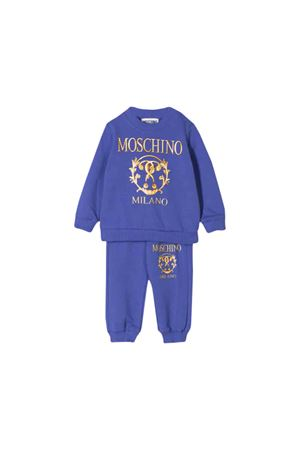Blue suit Moschino kids  MOSCHINO KIDS | 19 | MUK02ILDA1640295