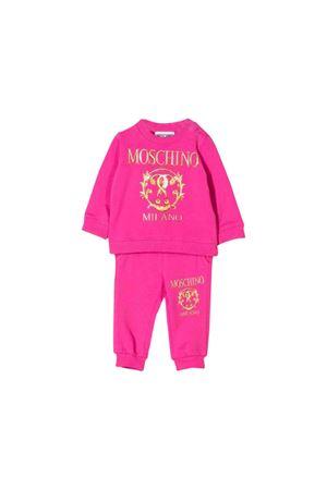 Fuchsia jumpsuit Moschino kids MOSCHINO KIDS | 19 | MUK02ILDA1650323