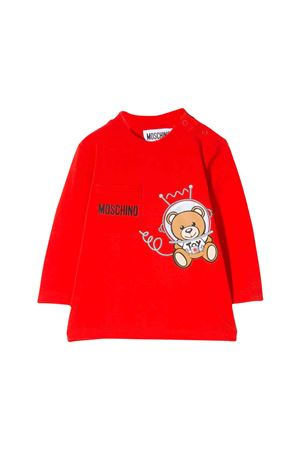 Red Moschino kids t-shirt  MOSCHINO KIDS | 8 | MUM023LBA1250109