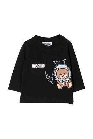 Black Moschino kids t-shirt MOSCHINO KIDS | 8 | MUM023LBA1260100