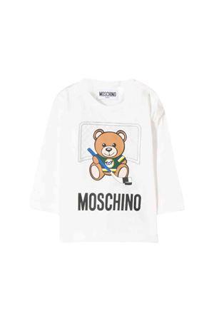 White Moschino kids t-shirt MOSCHINO KIDS | 8 | MUM025LAA1010063