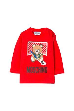 Red Moschino kids  t-shirt MOSCHINO KIDS | 8 | MUM025LAA1050109