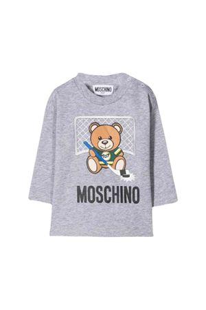Gray Moschino kids  t-shirt MOSCHINO KIDS | 8 | MUM025LAA1060901