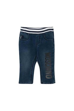 Moschino kids dark wash jeans MOSCHINO KIDS | 9 | MUP032LDE0440016