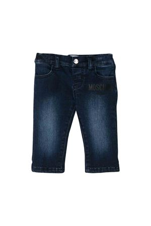 Moschino kids dark wash jeans MOSCHINO KIDS | 9 | MUP033LXE1881160
