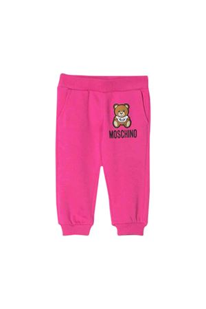 Jogging pants fuchsia Moschino kids MOSCHINO KIDS | 9 | MUP034LDA1750323