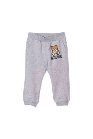 Gray jogging pants Moschino kids MOSCHINO KIDS | 9 | MUP034LDA1760901