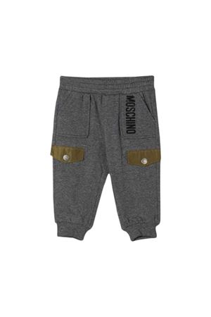 Gray jogging pants Moschino kids  MOSCHINO KIDS | 9 | MUP03ALDA1860907