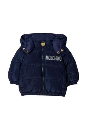 Moschino kids navy blue down jacket  MOSCHINO KIDS | 13 | MUS01IL3A1040016