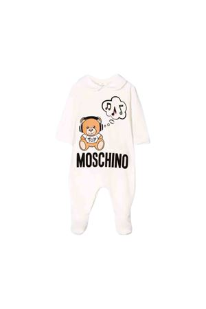 Moschino kids white baby suit MOSCHINO KIDS | 5032327 | MUT01BLDA1710063