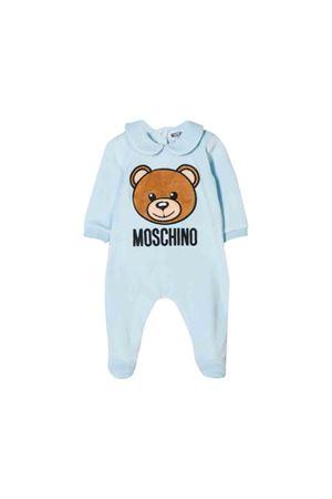 Moschino kids blue baby suit  MOSCHINO KIDS | 5032327 | MUY02ALGA0440304