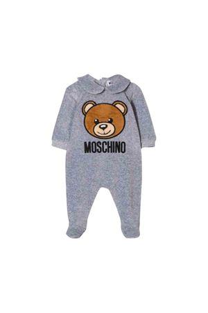 Moschino kids gray baby suit  MOSCHINO KIDS | 5032327 | MUY02ALGA0460901