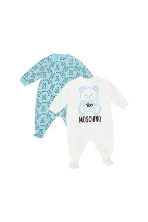 SET 2 BABY SUITS MOSCHINO KIDS MOSCHINO KIDS | -202268645 | MUY02CLAB1384905