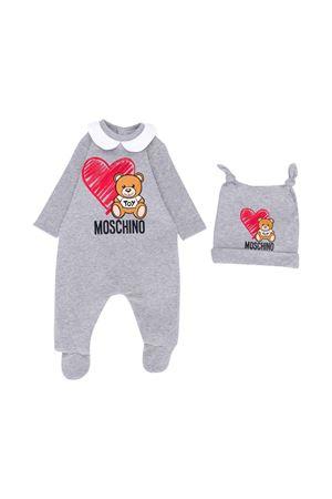 Set regalo Moschino kids tutina neonato + berretto MOSCHINO KIDS | -202268645 | MUY02GLDA1460901
