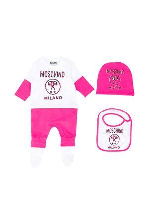 BABY GIFT SET MOSCHINO KIDS MOSCHINO KIDS | 5032327 | MUY02LLDA1650323