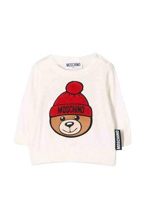 Maglia  bianca con stampa toy Moschino Kids MOSCHINO KIDS | 7 | MVW00HLHE0910063