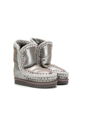 Gray eskimo boots Mou kids teen  Mou kids   12   ESKIMO18MGLAPT