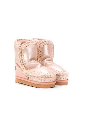 Powder pink eskimo boots Mou kids  Mou kids | 12 | ESKIMO18MGROBE