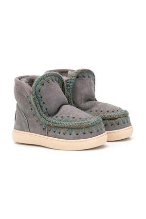 Gray eskimo boots Mou kids  Mou kids | 12 | ESKIMOSNEAKERIROB