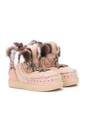Beige eskimo boots for girls Mou kids  Mou kids | 12 | ESKIMOSNEAKERROBE
