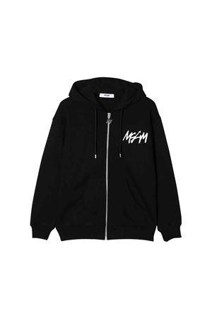 MSGM kids black sweatshirt  MSGM KIDS | 13 | 020247110