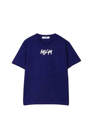 Purple MSGM kids t-shirt  MSGM KIDS | 8 | 020249070