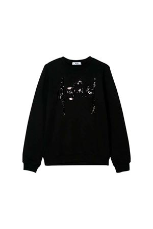 BLACK SWEATER GIVENCHY KIDS TEEN  MSGM KIDS | 1169408113 | 020270110T