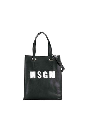 MSGM KIDS black rectangular bag  MSGM KIDS | 31 | 020274110