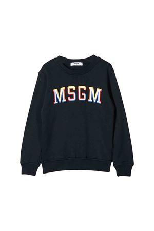 MSGM blue kids sweatshirt  MSGM KIDS | 1169408113 | 020278060