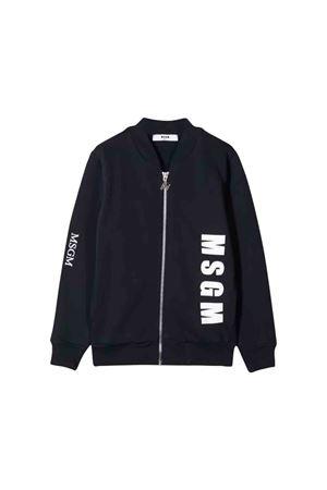 MSGM kids blue sweatshirt  MSGM KIDS | 1236091882 | 020281060