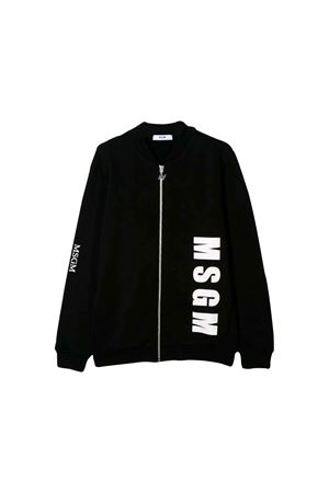 BLACK SWEATSHIRT MSGM KIDS TEEN MSGM KIDS | 1236091882 | 020281110T