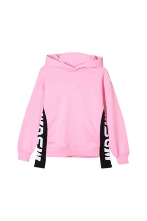 MSGM kids teen  pink sweatshirt MSGM KIDS | 5032280 | 020285042T
