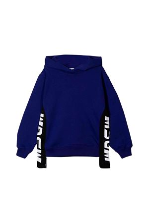 MSGM kids teen purple sweatshirt MSGM KIDS | 5032280 | 020285070T