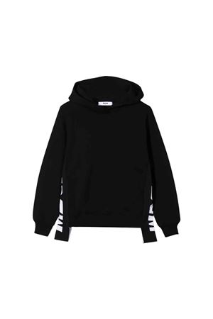 MSGM kids black sweatshirt  MSGM KIDS | 5032280 | 020285110