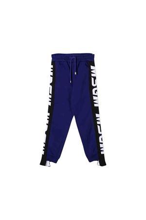 MSGM kids purple trousers  MSGM KIDS | 9 | 020287070