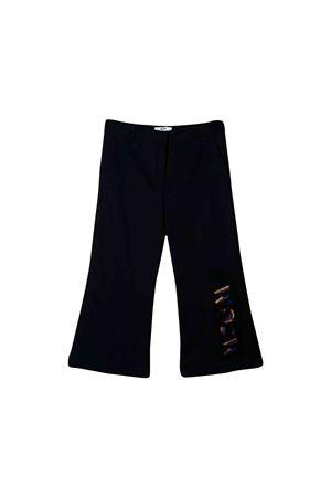 Blue MSGM kids flared line trousers MSGM KIDS | 9 | 020667060