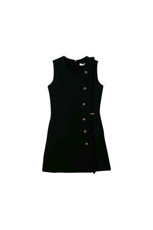 Short and sleeveless MSGM kids teen black dress MSGM KIDS | -675681197 | 020678110T