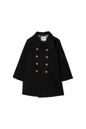 MSGM Kids black coat  MSGM KIDS | 17 | 020680110