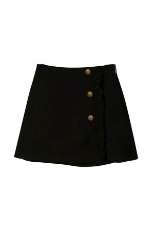 BLACK GIRL SKIRT MSGM KIDS  MSGM KIDS | 15 | 020682110