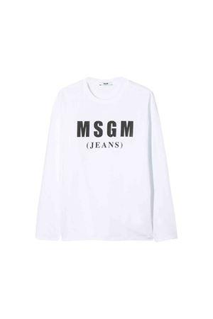 Maglia bianca MSGM kids teen MSGM KIDS | 7 | 020830001T