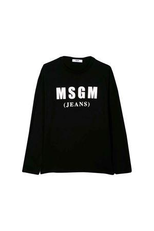 MAGLIA NERA BAMBINO MSGM KIDS MSGM KIDS | 7 | 020830110