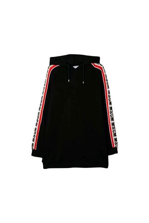 BLACK SWEATSHIRT DRESS MSGM KIDS TEEN MSGM KIDS | -108764232 | 020832110T