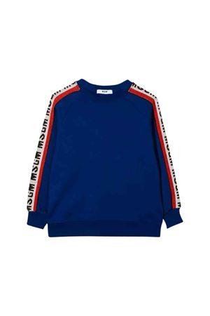 MSGM kids royal blue sweatshirt  MSGM KIDS | 1169408113 | 020945130