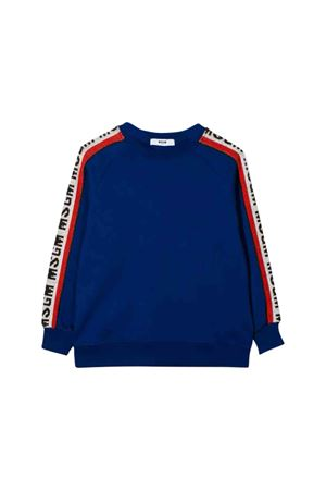 Felpa blu royal MSGM kids teen MSGM KIDS | 1169408113 | 020945130T
