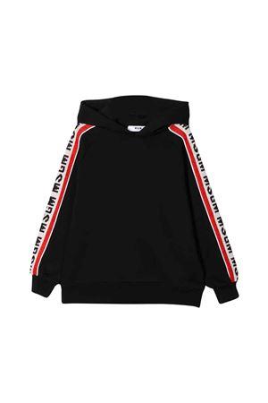 MSGM kids black sweatshirt  MSGM KIDS | -108764232 | 020948110